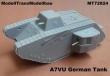MT72824 - A7VU German prototype tank